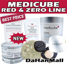 ▶THE LOWEST PRICE◀ [Medicube]Red/Zero/ZeroPorePad/Cushion/ ErasingCream/FoamCleanser/BodyBar/Deep