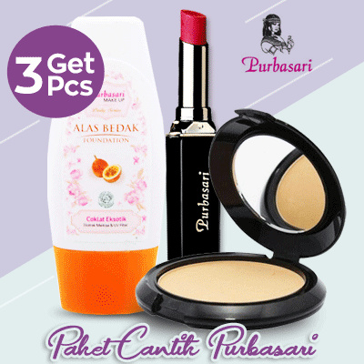 Paket Cantik Purbasari Deals for only Rp65.000 instead of Rp65.000