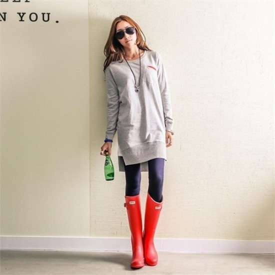 ピピン行き来するようにピピンビュルの裾に広がることワンピース31189 綿ワンピース/ 韓国ファッション
