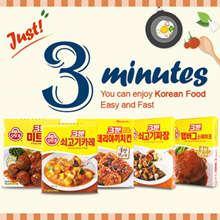 ★OTTOGI 3minutes KOREAN FOOD★Instant food Super sale