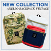 NEW COLLECTION // TAS RANSEL // ANELLO BACKPACK VINTAGE // UNISEX BACKPACK