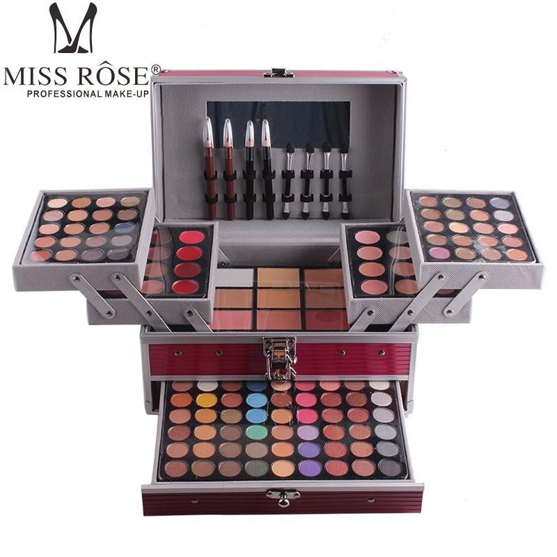 Qoo10 Miss Rose Makeup Kit Full