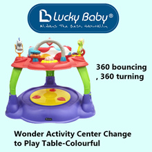 Wonder Activity Center Change to Play Table-Colourful