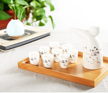 Chinese White Wine/ Soju Drink bottle and cup set