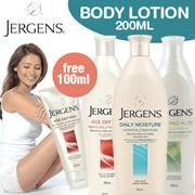 Buy 1 Get 1 [JERGENS]Age Defying/Body Lotion Anti Aging/Mengurangi Dan Mencegah Kerutan Di Kulit