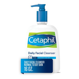 Cetaphil Daily Facial Cleanser, Face Wash For Normal to Oily Skin, 16 Oz
