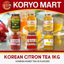 Kkotshaem Korean Citron Tea 1kg / Korean honey tea / honey and rich fruit pulp / 6 flavours