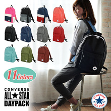 CONVERSE Converse bag bag Bag bag Men's Women's unisex combined rucksack day pack pack (sp-17712600) large capacity commuting commute work travel travel outdoor A4 vs pair