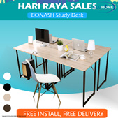 【BONASH】 Simple Modern Computer Table/Save Space Office Table/Office Desk/Student Study Desk