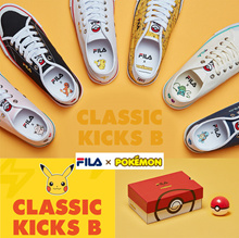 [FILA x POKEMON] Original Classic Kixx B series 12color sneakers shoes Limited edition