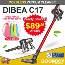 [▼67%]  DIBEA C17 Handheld Cordless Upright Vacuum Cleaner