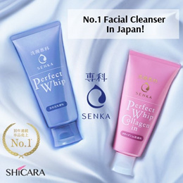Senka Perfect Whip Series - No.1 Facial Cleanser In Japan!