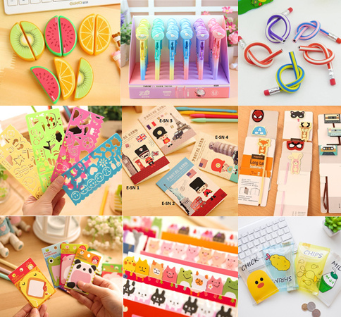 ?Goodie Bag Supplies? Stationary / Pens / Memo Pads / Magnetic Bookmarks Deals for only S$1.5 instead of S$0