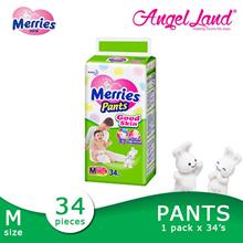 Merries Good Skin Pants Diaper-M34/L30/XL26 ( 1 Pack )