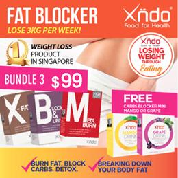[Bundle of 3] Blocker Burner Booster FREE 2 Grape drink mini
