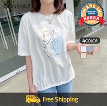 [CANMART] Art Banding T-shirt C042668