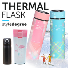 ★ PREMIUM QUALITY THERMAL FLASK★Vacuum Flask insulated Tumbler Water Bottle Fruit Infuser Sucion mug
