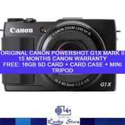 CANON POWERSHOT G1X MARK II DIGITAL CAMERA * ORIGINAL SET WITH LOCAL WARRANTY * FREE GIFTS