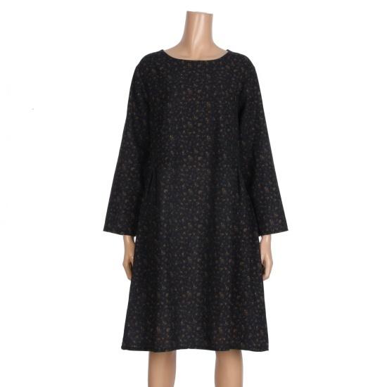 レコブ女性衣類フラワーポケットワンピースLX317YOP682B 面ワンピース/ 韓国ファッション