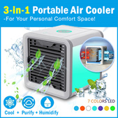 💖LOCAL SELLER💖[AIR COOLER]Air Cooler | Small Fan | Personal Space Cooler | Quick Easy Way to Cool