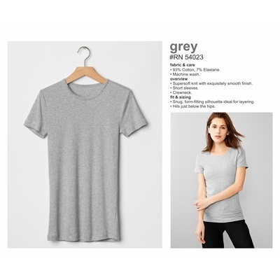 RN 54023 GREY S/S