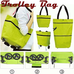 ✔ Trolley Bag  ✔ Tas Troly lipat  ✔ Shopping foldable trolley bag  ✔