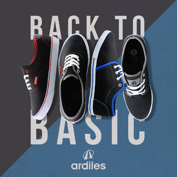 [Ardiles] Back To BasicUNISEX Basic Sneakers Deals for only Rp119.000 instead of Rp119.000