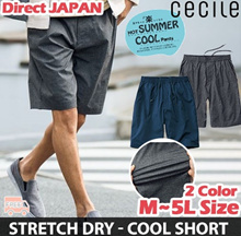[Cecile] Dry Stretch half-pant / 2 color / sporty pants / swimwear / Functional item