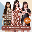 BUY 1 GET 1 FREE !! BATIK + FLORAL COLLECTION