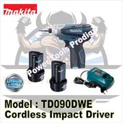 MAKITA 10.8V CORDLESS DRILL DRIVER TD090DWE / DRILL / MAKITA DRILL / COMES WITH 2 LI-ION BATTERY