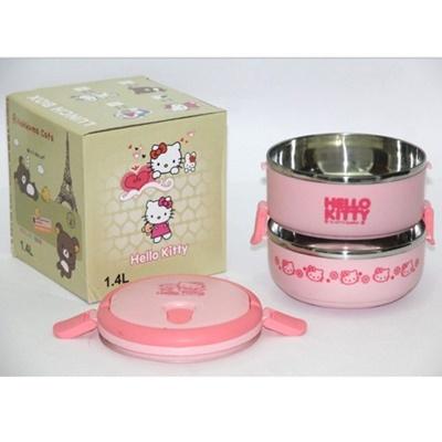 Lunch Box Kartun Susun 2 Hello Kitty