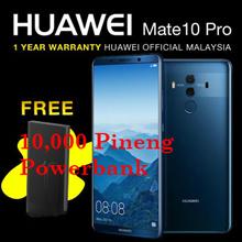 (Mate 10 Pro RM2600 with RM400 Coupon) Huawei Mate 10 Pro  6GB RAM/128GB ROM (HUAWEI MALAYSIA) // SEALED PRODUCT // FREE 10,000MAH PINENG POWERBANK