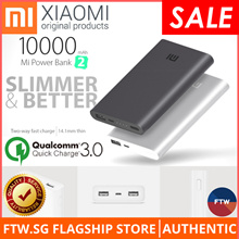 [BEST DEAL!!] Xiaomi 100% Authentic Gen 2 Power Bank 🌟Quick Charge 3.0 Dual USB Port