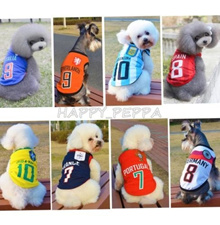 【World cup】Football World Cup Soccer Jersey Team Uniforms Pet Dog Vest T-shirt Summer Cloth