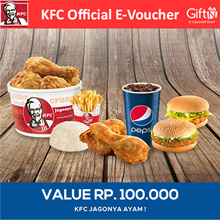 [FAST FOOD] KFC Value Voucher 100K