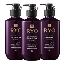 [Ryo]Jayang Hair loss care Shampoo(Oily) 400mlx3ea
