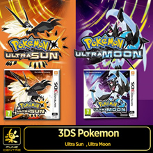 New 3DS Pokemon Ultra Sun / Ultra Moon. Uncover New Tales, Mystery Behind 2 Legendary Pokemon! Discover New Region Aloha. Explore Cool Feature New Battle Facility, and New Pokemon Power : Z-Move!