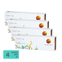 [Free Shipping] CooperVision Proclear 1 day (30pcs/box) x4
