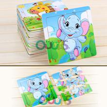 Animals Wooden Puzzle I 9pc Puzzle I Jigsaw Puzzle I Goodie Bag I Gift I Children Puzzle I Birthda