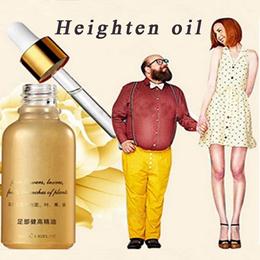 Body Grow Taller Essential Oil Foot Promot Bone Growth Height Increasing Oil (Size: 30 ml)