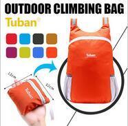 Tuban Outdoor Sport bag Climbing bag Foldable Waterproof travel bag Hiking backpacks Ultralight Spor