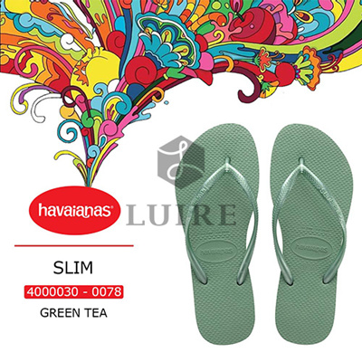 93efe3b418dc5 Qoo10 -  HAVAIANAS  SLIM - GREEN TEA   Shoes