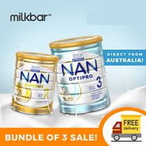 (BUNDLE OF 3) Nestle NAN Optipro HA Susu Formula Tahap 2/3/4 100% Kirim Langsung dari Australia