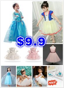 ★Disney Frozen/SNOW WHITE★Baby Girl Princess Dress Costume Christmas CROWN