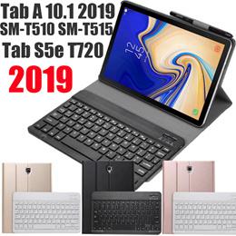 Samsung Galaxy Tab S6 Lite 2020 A 10.1 2019 T510 T515 Tab S5e T720  Blutooth Wireless keyboard Case
