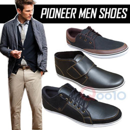 NEW ITEM  PIONEER CASUAL SHOES SEPATU CASUAL PRIA   4 MODEL   LOCAL BRAND 50a354a376