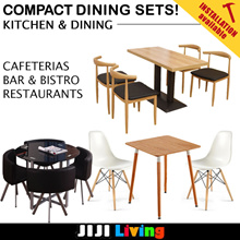 Coffee Dining Sets! ★Kitchen Furniture | Dining Table Sets | Storage Space ★Cafe | Bar | Restaurants