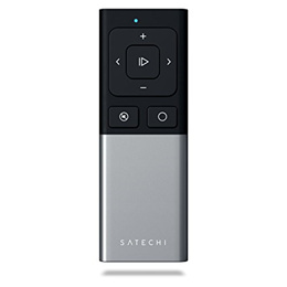 Satechi Aluminum Wireless Multi-Media & Presenter Remote Control - Compatible with 2018 Book P...