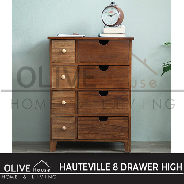 [ NEW ITEM ] Lemari Hauteville 8D High Choco Deals for only Rp1.599.000 instead of Rp1.599.000