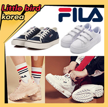 [FILA] ♥Free gift♥ Best Fila Korea Shoes/DISRUPTOR/100%authentic /Velcro shoes / Fila Classic Kicks
